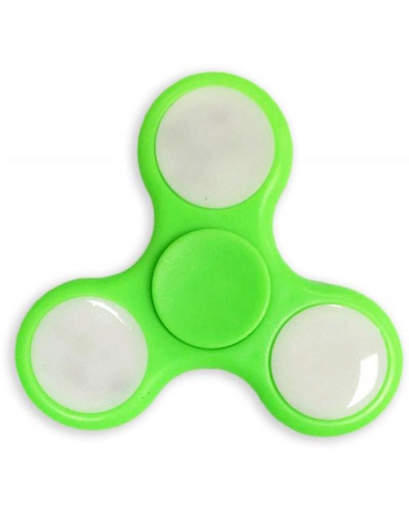hand spinner  led  verde