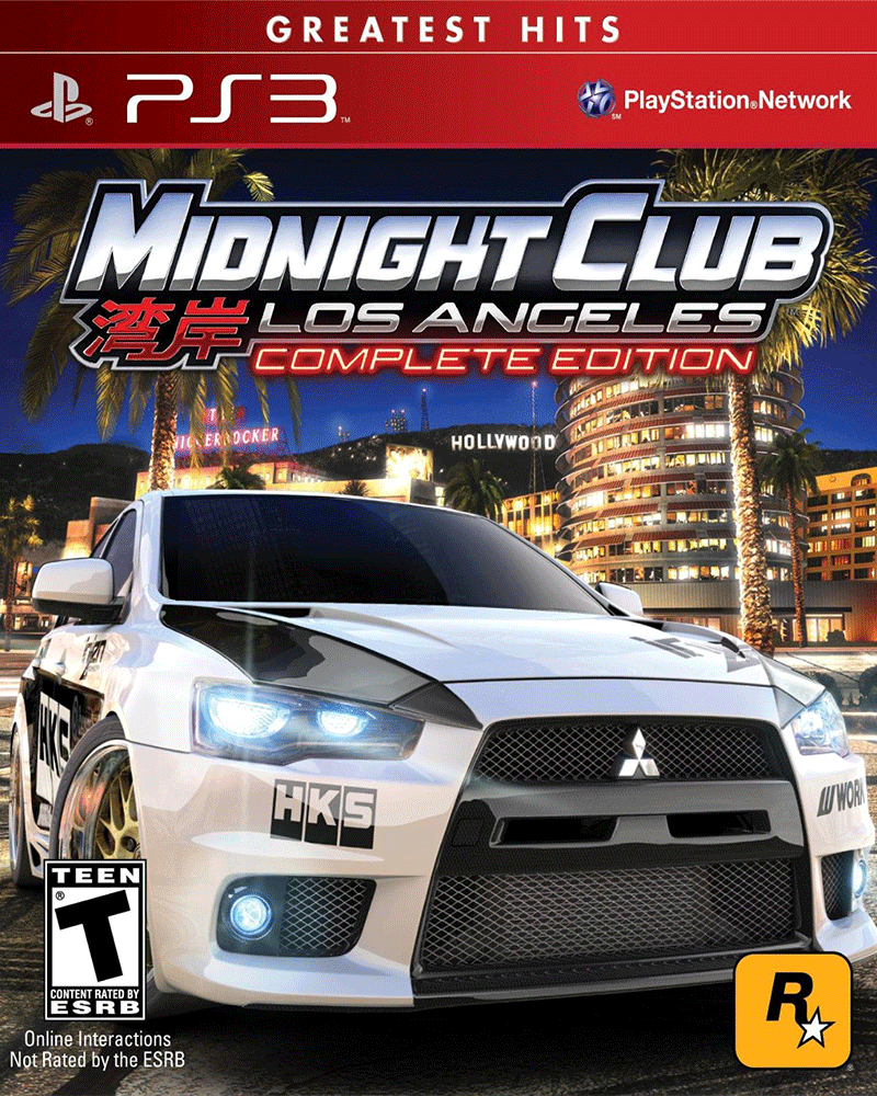 sony 3 midnight club la