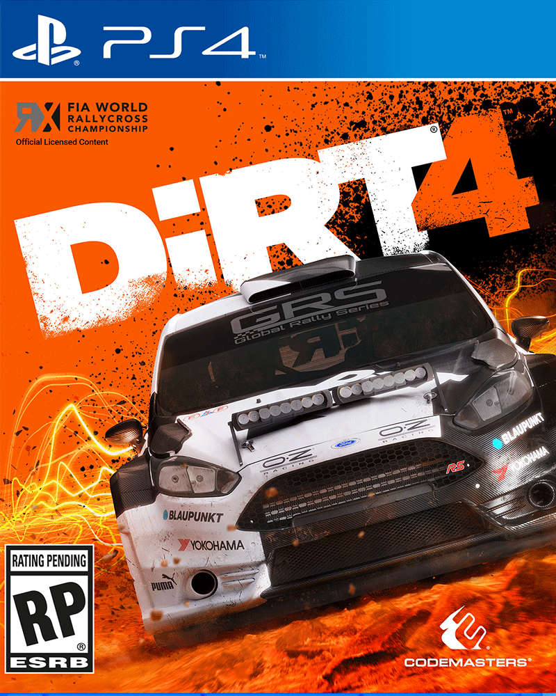 sony4 dirt 4 new