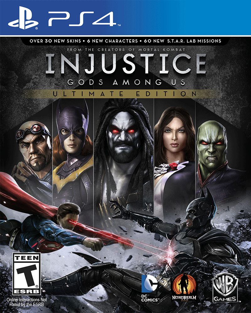 sony4 injustice gods among us