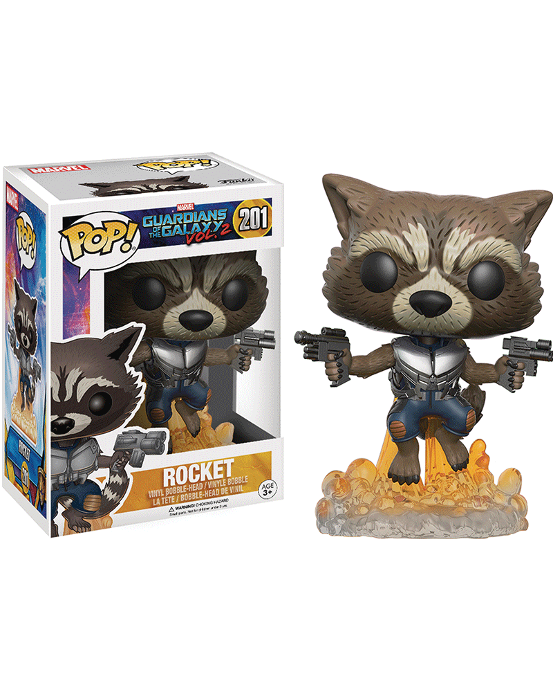 pop guardians galaxy 201 rocket 13270