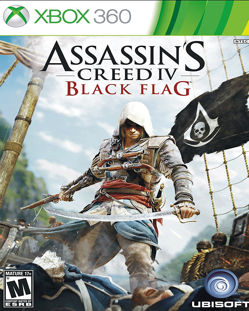 xbox 360 assassin s creed iv black flag