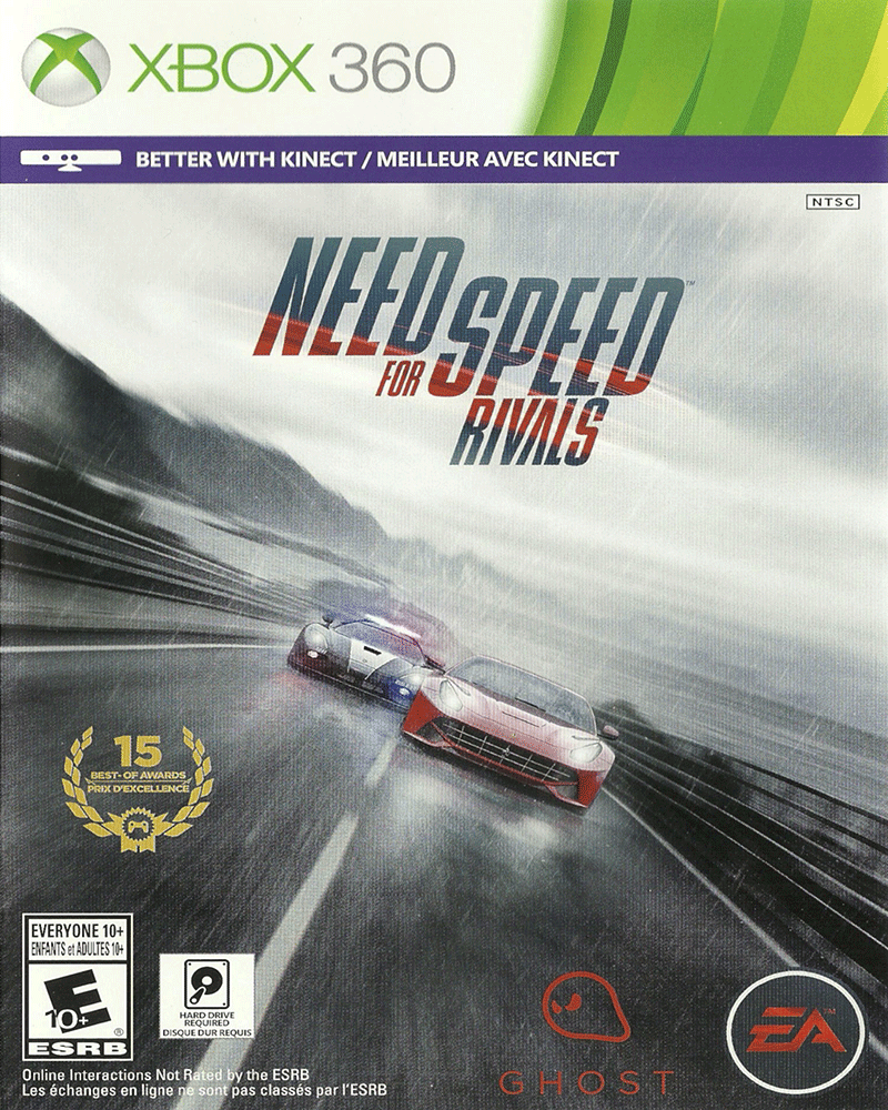 xbox 360 k   need for speed rivals