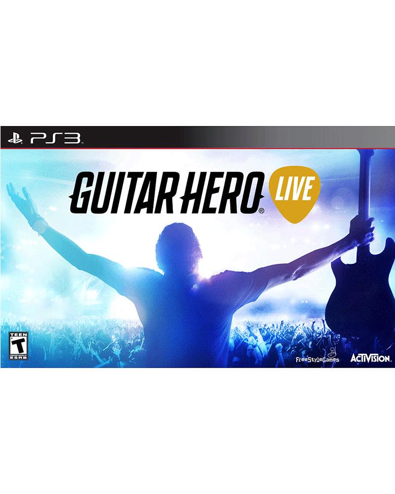 sony 3 guitar hero live guitar