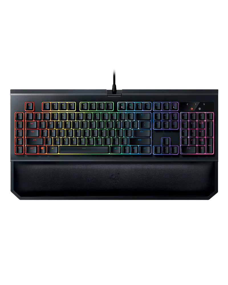 razer teclado blackwidow chroma v2 02030200