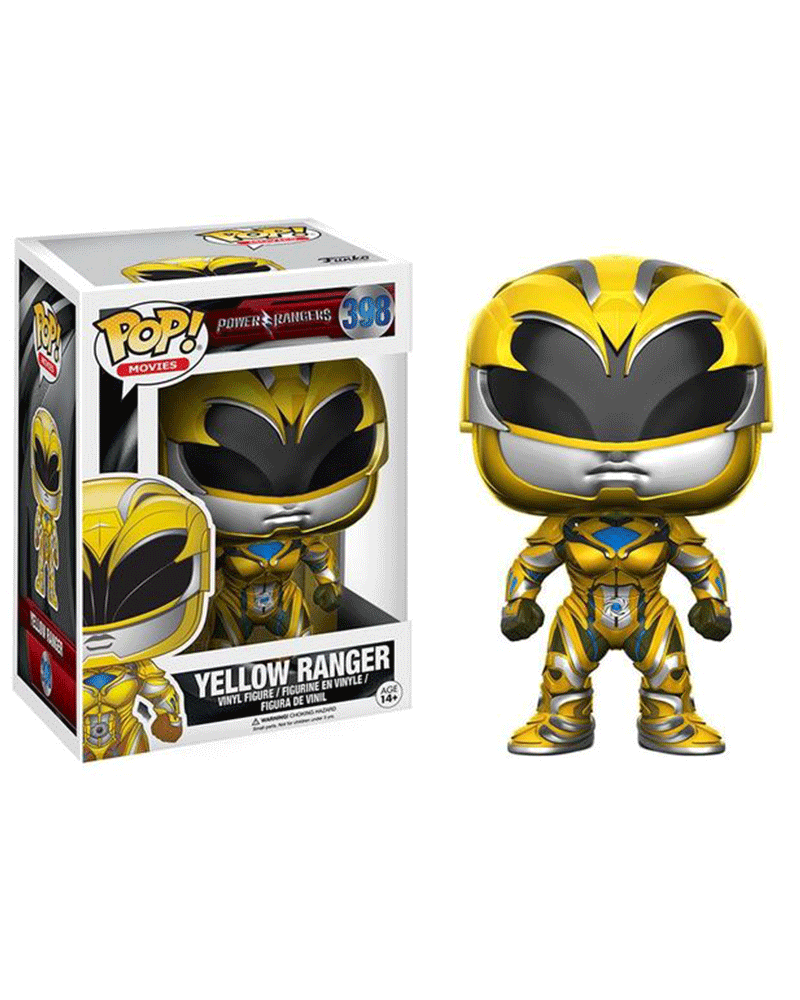pop power rangers 398 yellow ranger 12344