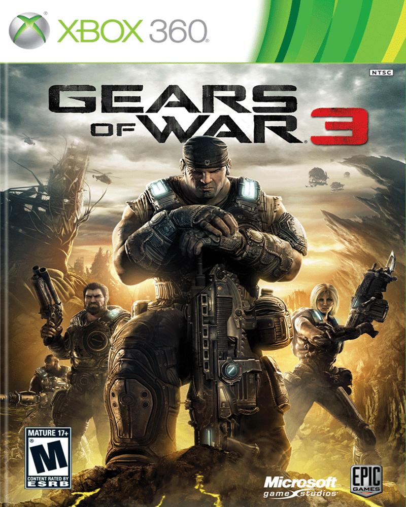 xbox 360 gears of war 3 spec