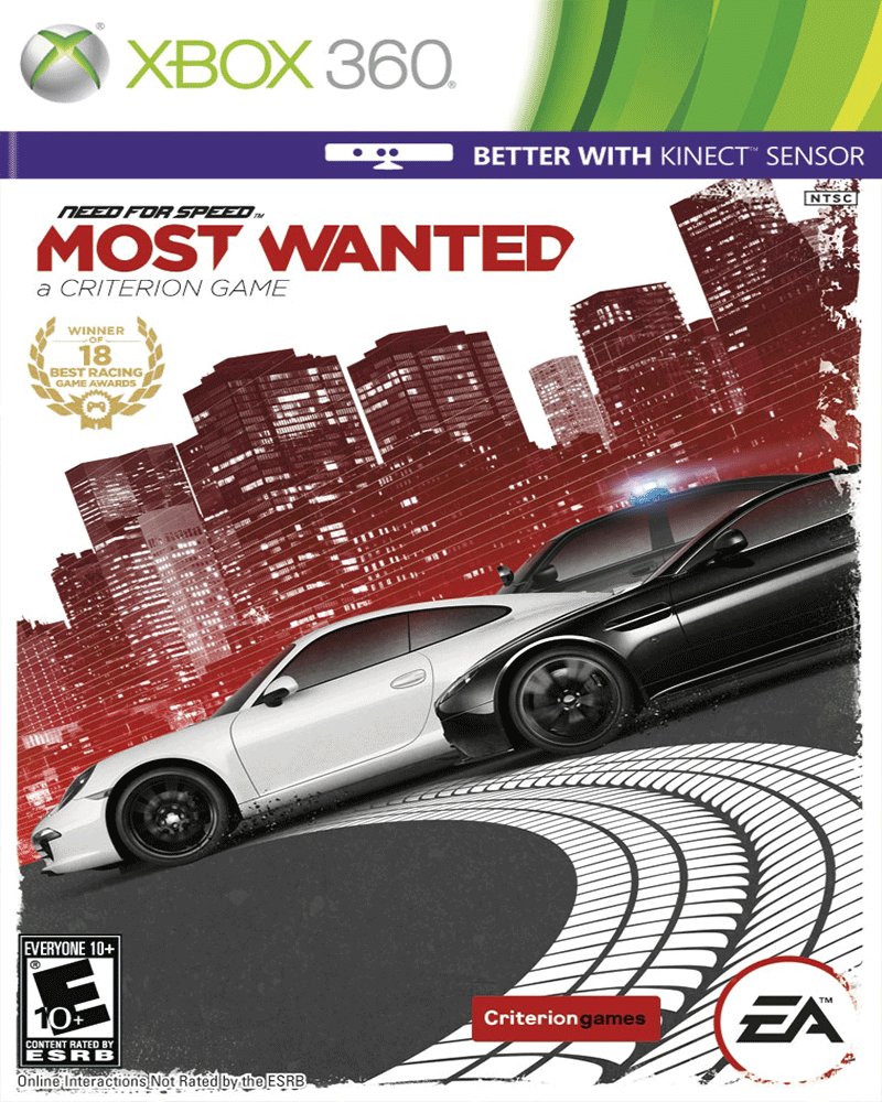 xbox 360 k   need speed most wanted