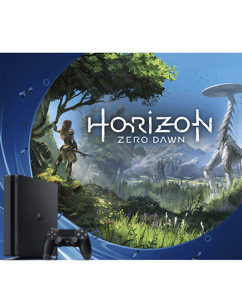 console ps4 cuh 2015a 500gb c horizon zero dawn