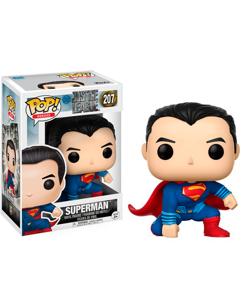 pop justice league 207 superman 13704