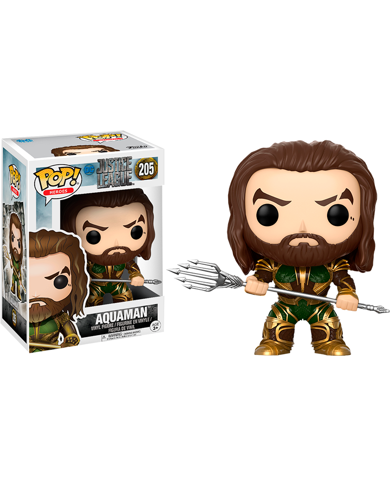 pop justice league 205 aquaman 13486