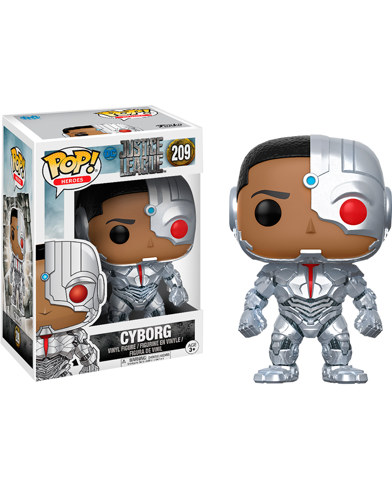 pop justice league 209 cyborg 13487