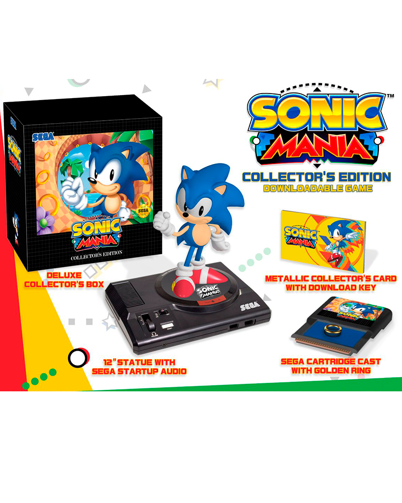 sony4 sonic mania collectors