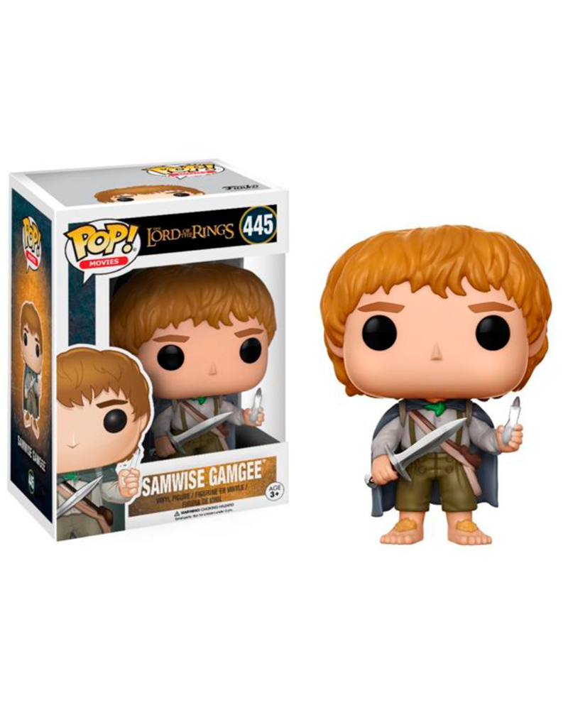 pop lord of the rings 445 samwise gamgee 13553