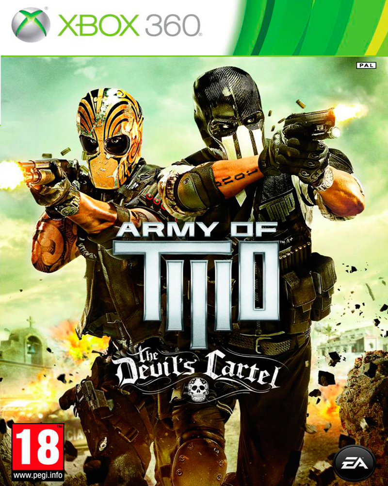 xbox 360 army of two the devil s cartel