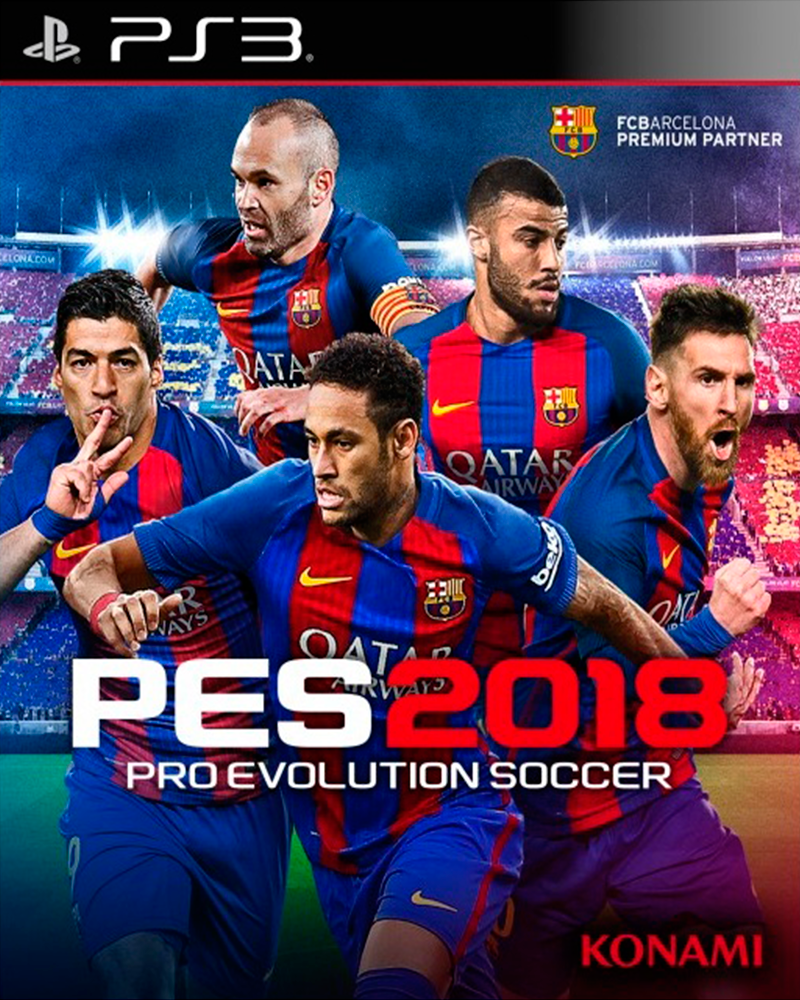 sony 3 pro evolution soccer pes 2018