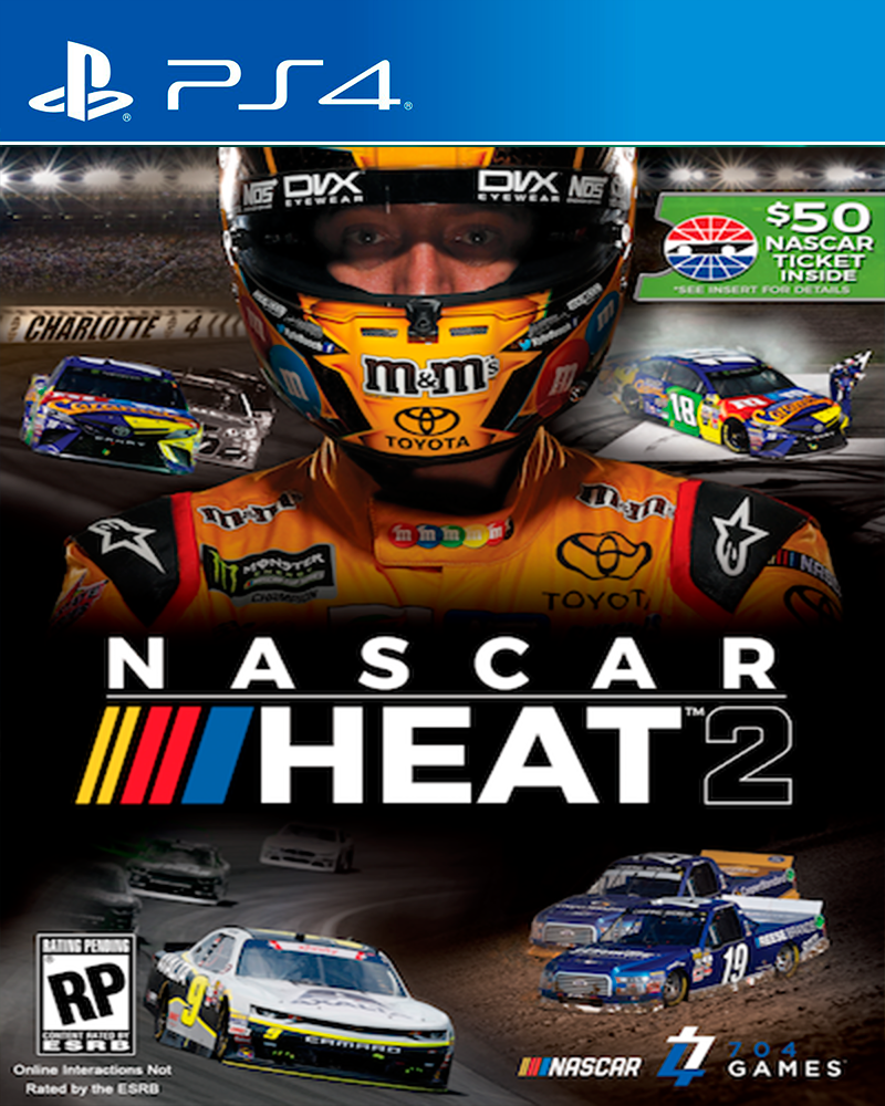 sony4 nascar heat 2 new