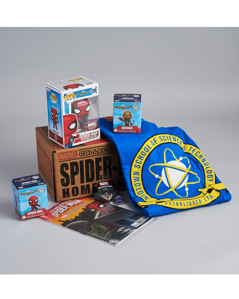 funko collectors spider man homecoming  m