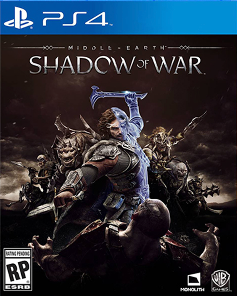 sony4 middle earth shadow of war