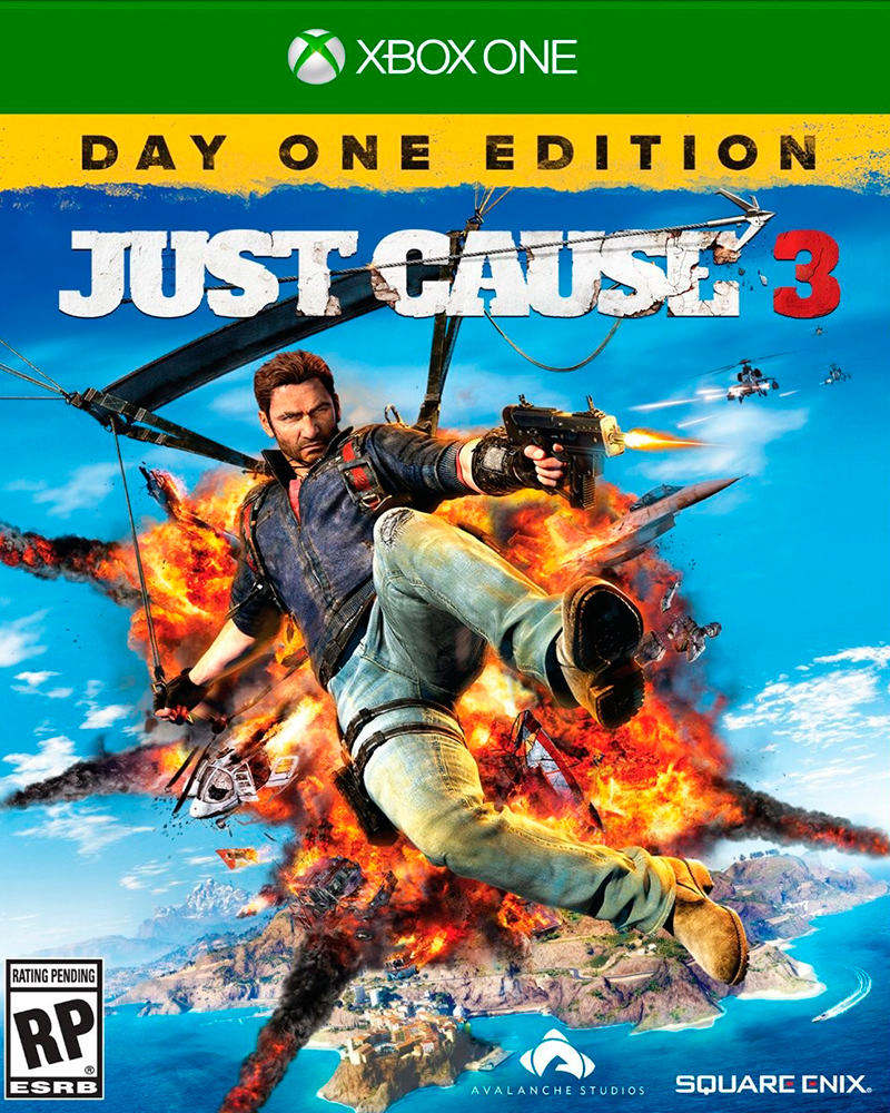 xbox one just cause 3 day tvgamepy. Black Bedroom Furniture Sets. Home Design Ideas