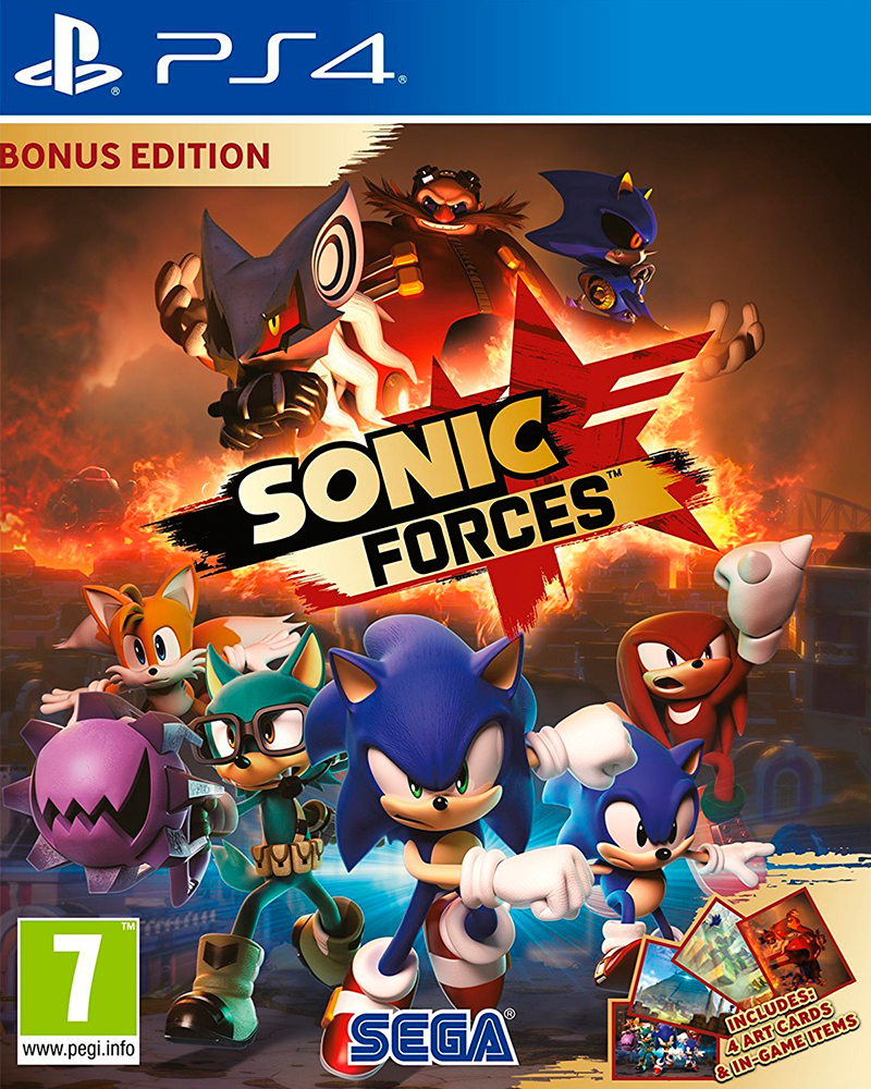 sony4 sonic forces edition