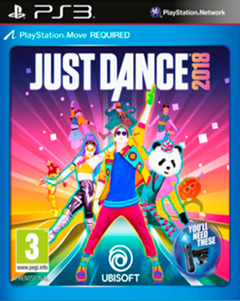 sony 3 m   just dance 2018