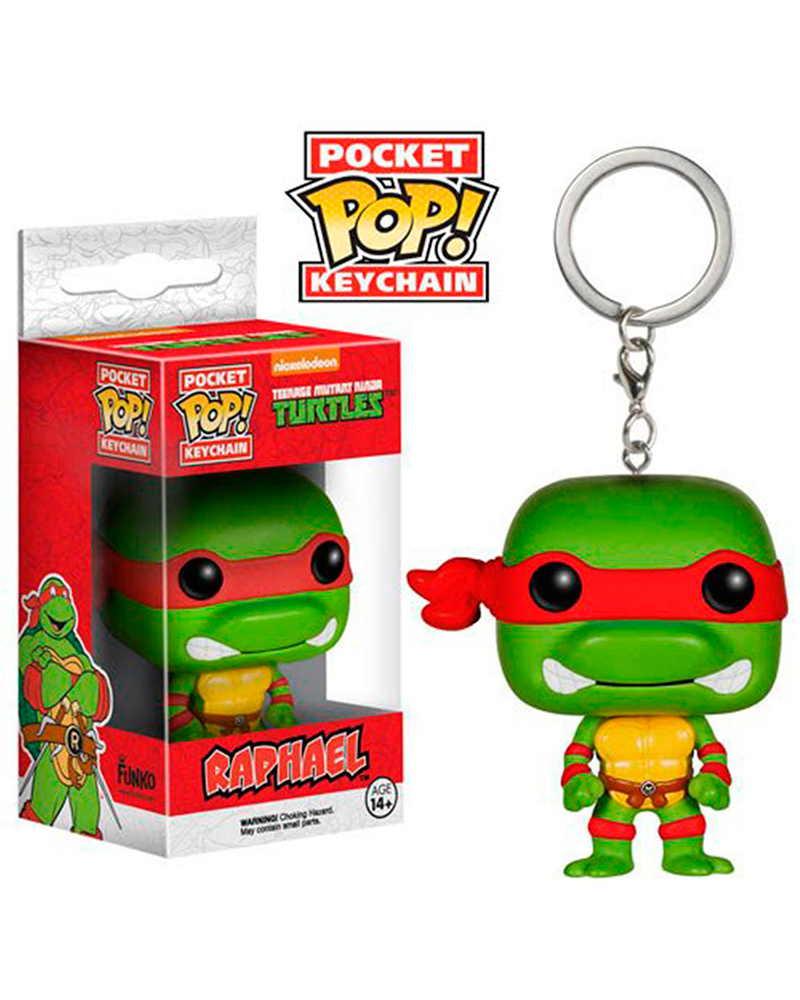 pop chaveiro turtles raphael 4575