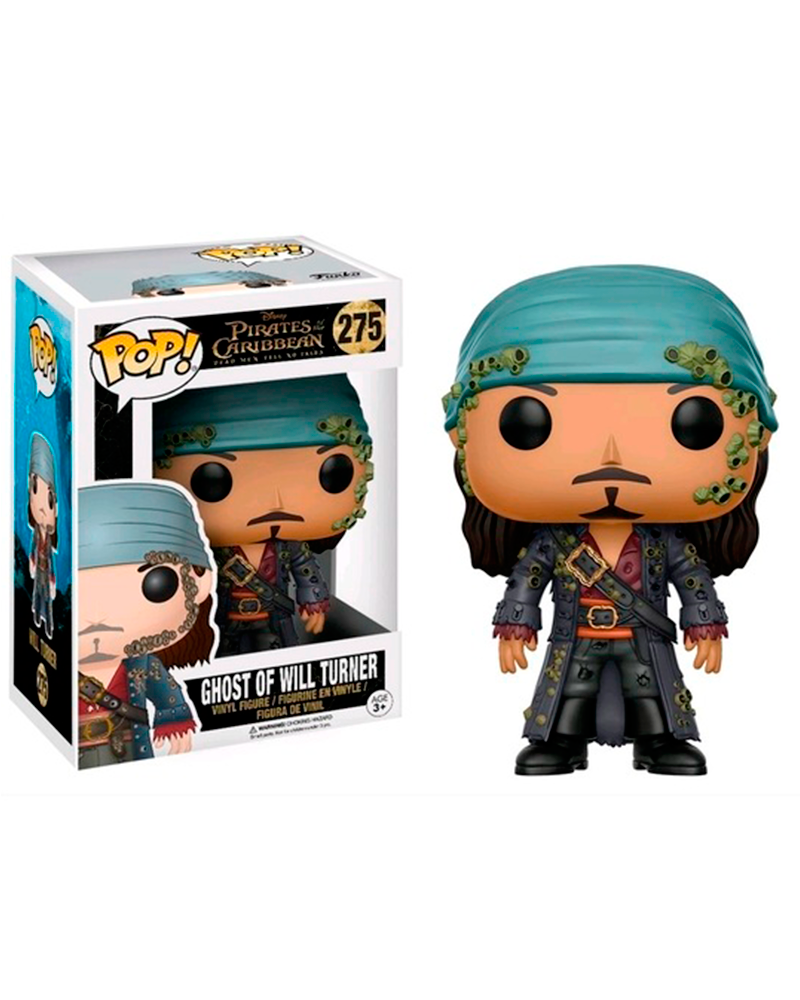 pop pirates c 275 ghost of will turner 12806