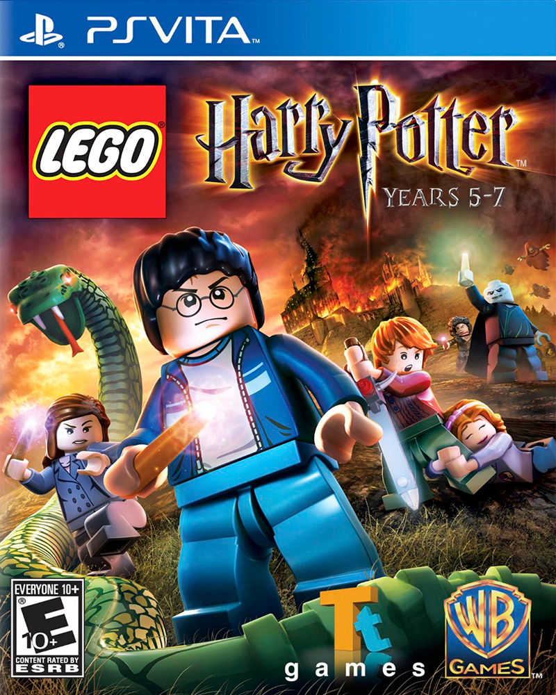 psvita lego harry potter years 5 7