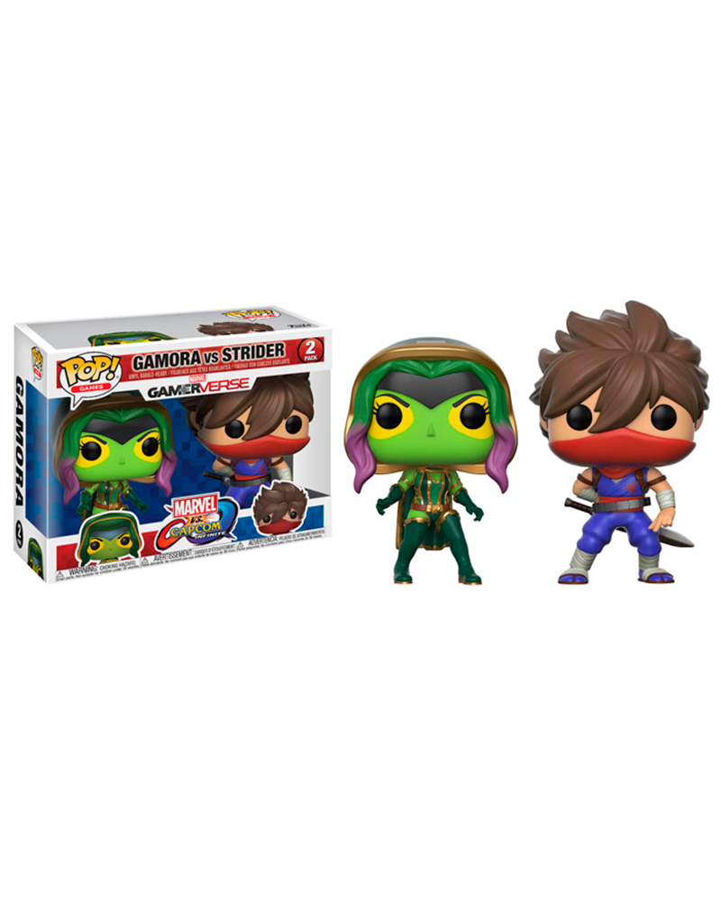 pop marvel 2 pack  gamora vs strider 22776