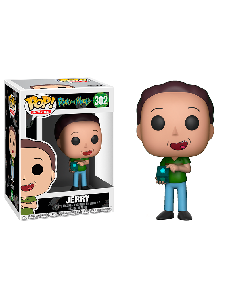 pop rick and morty 302 jerry 22962