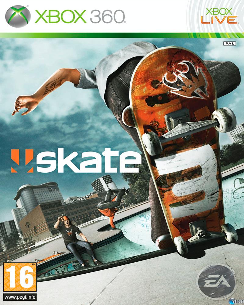xbox one skate 3  xbox 360