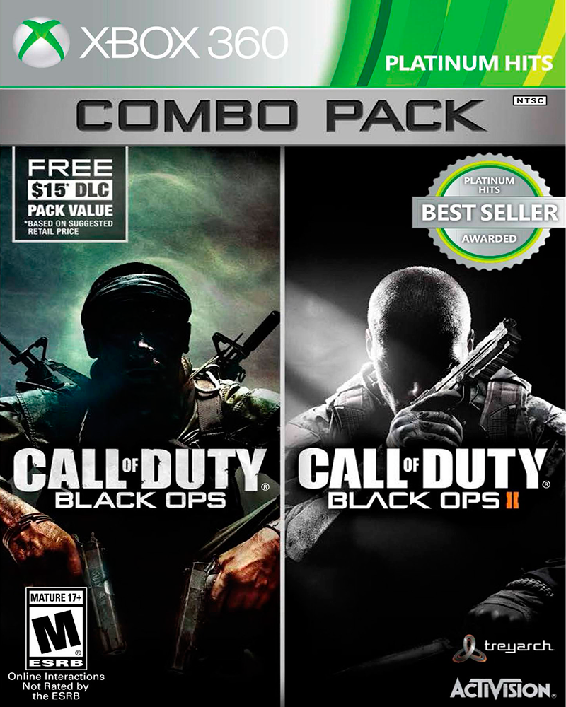 xbox one call of duty b ops 1 2  x 360