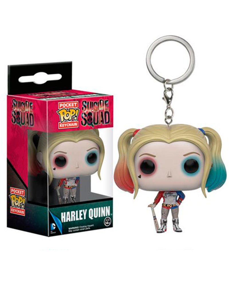 pop chaveiro suicide squad harley quinn 9357
