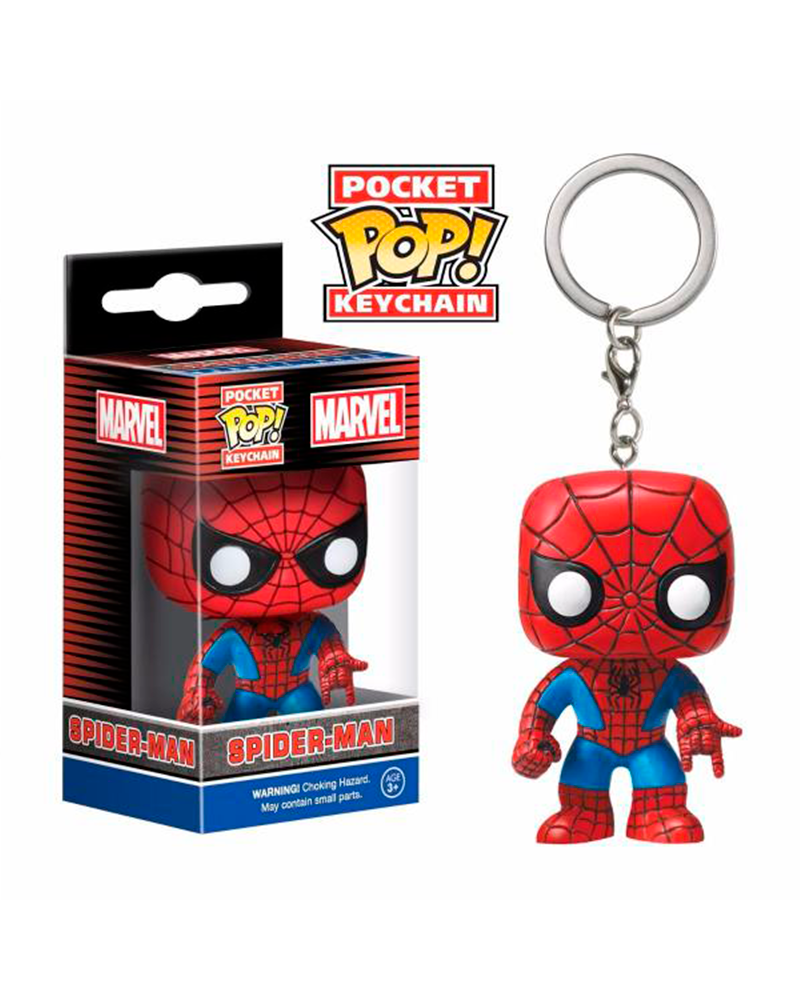 pop chaveiro marvel spider man 4983