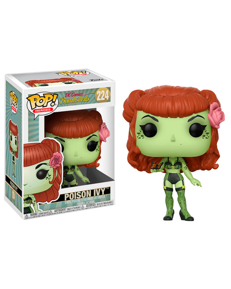pop bombshells 224 poison ivy 22887