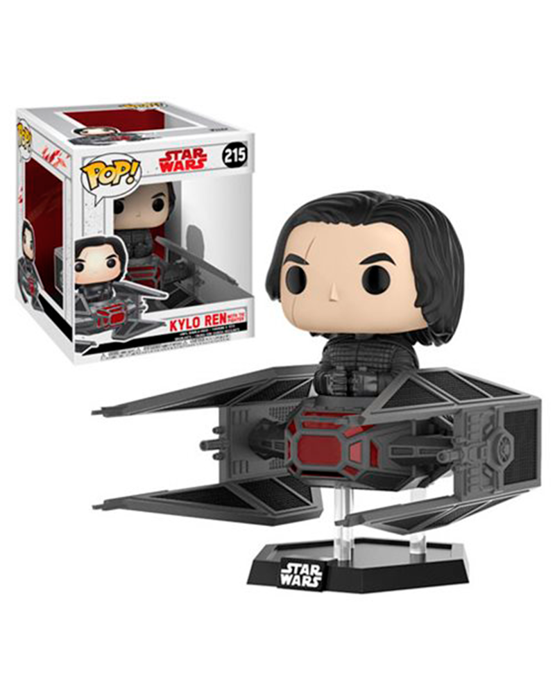 pop star wars rides  215 kylo ren with tie fighter