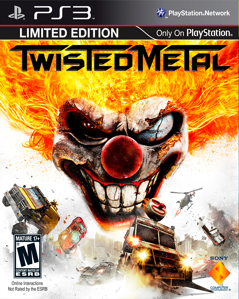 sony 3 twisted metal