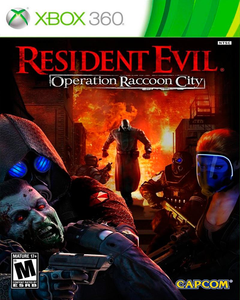 xbox 360 resident evil raccoon city