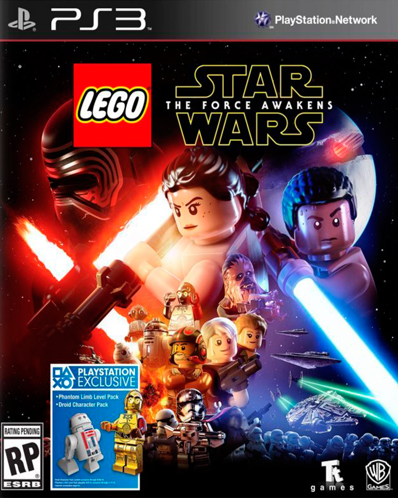sony 3 lego star wars force awakens