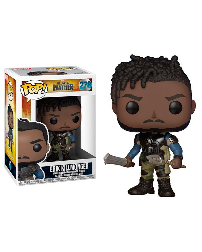 pop black panther 278 erik killmonger 23350