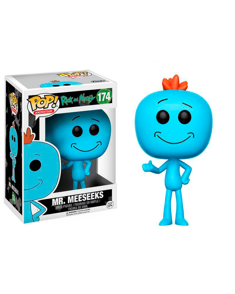 pop rick and morty 174 mr meeseeks 12441