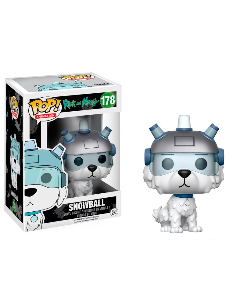 pop rick and morty 178 snowball 12445