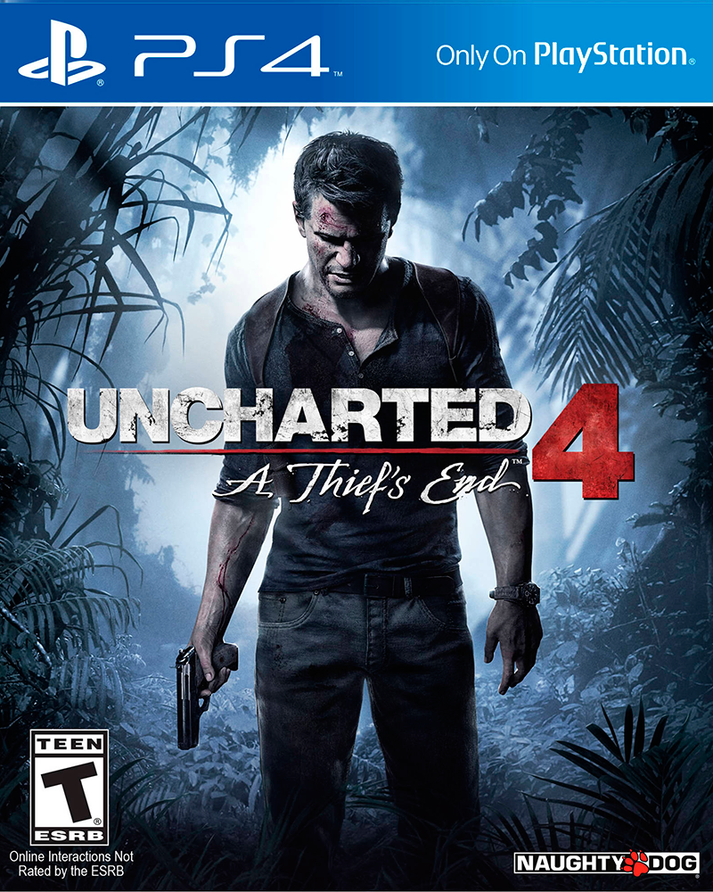 sony4 uncharted 4 thiefs    oem