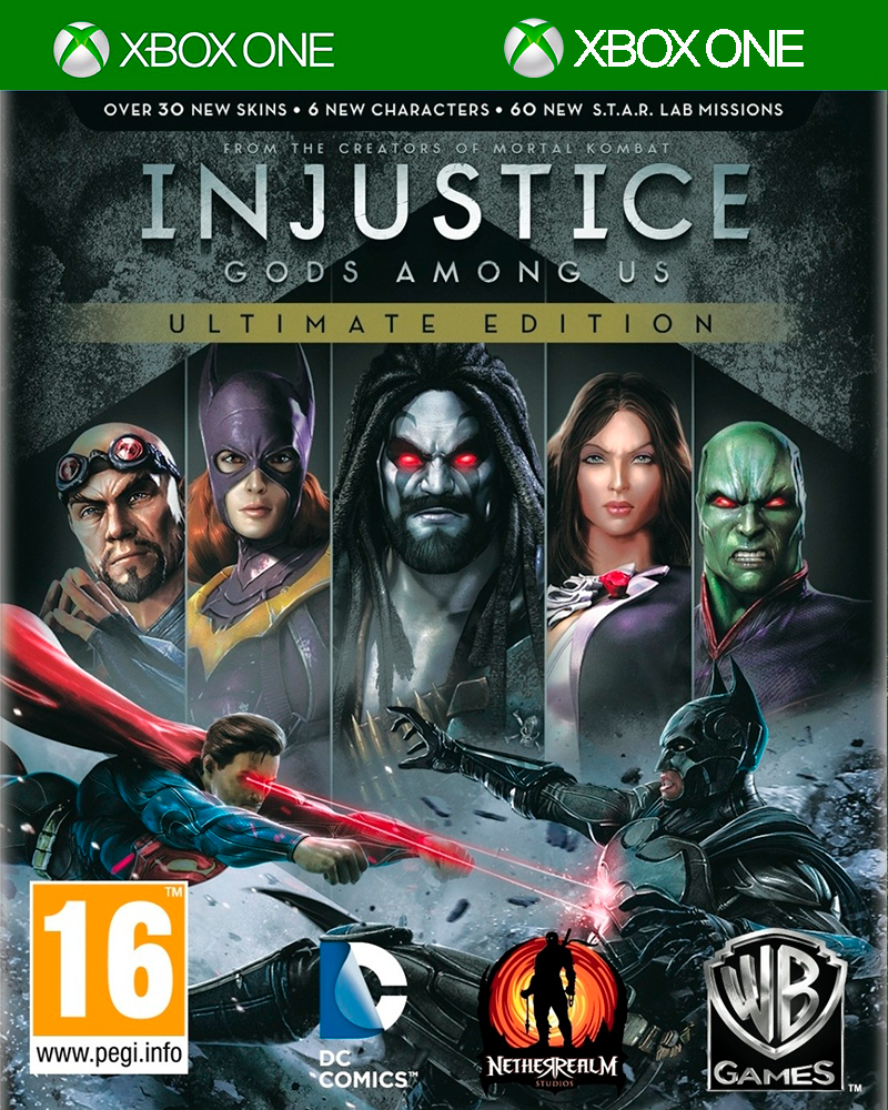 xbox one injustice gods among x 360