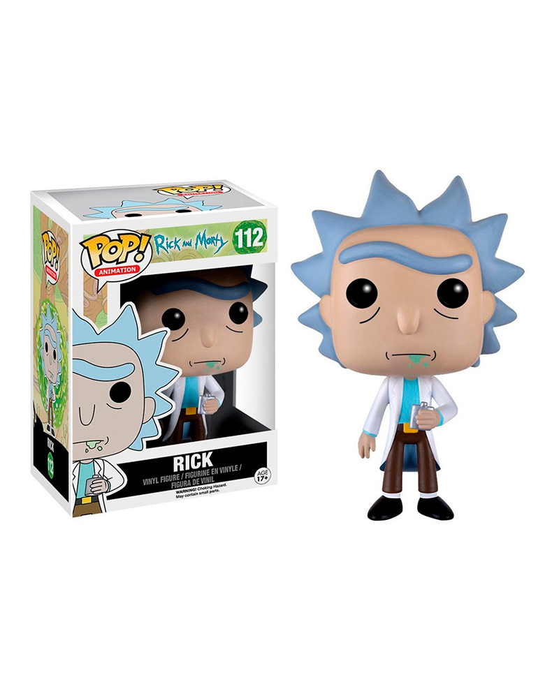 pop rick and morty 112 rick 9015