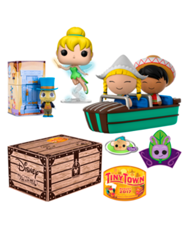 funko collectors disney tiny town