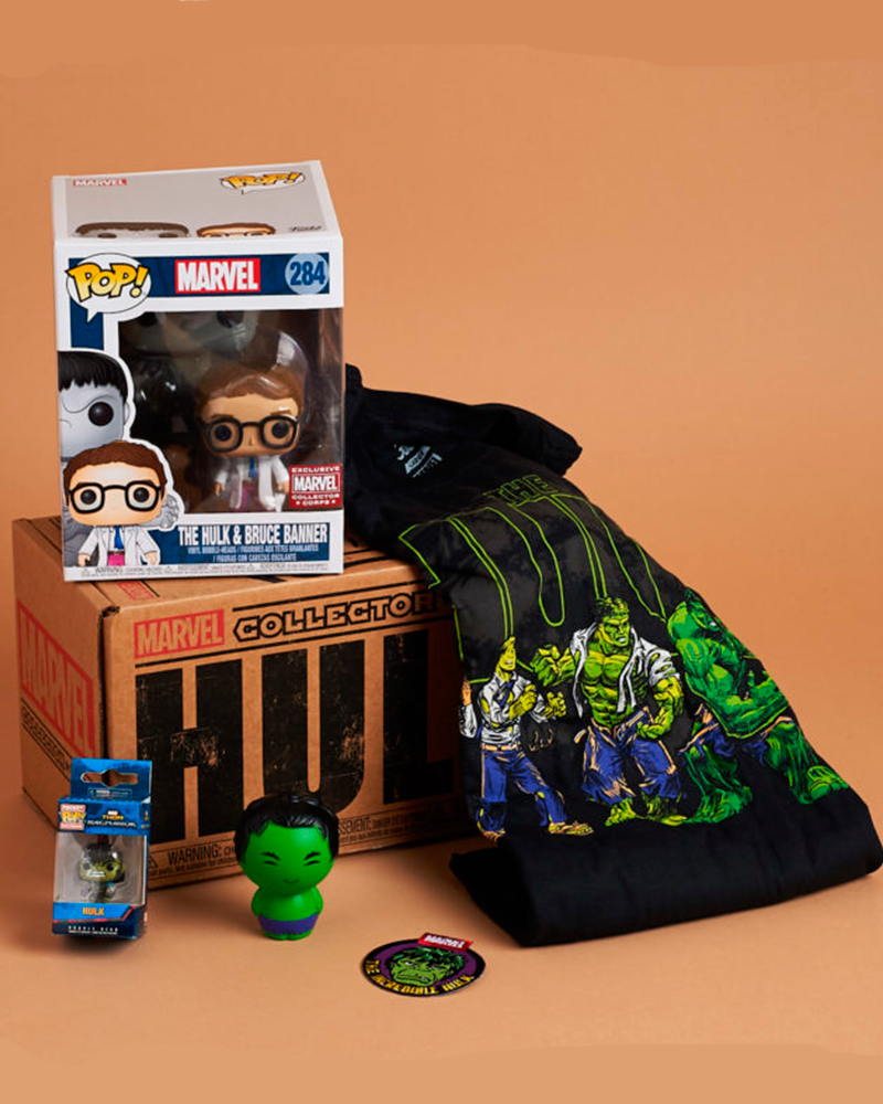 funko collectors marvel hulk  m