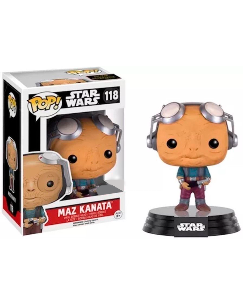 pop star wars 118 maz kanata