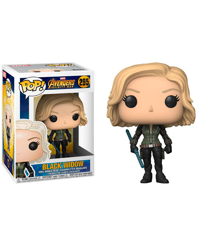pop avengers i war 295 black widow 26468